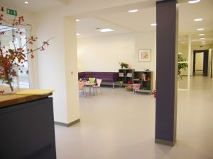 reception og venteområde